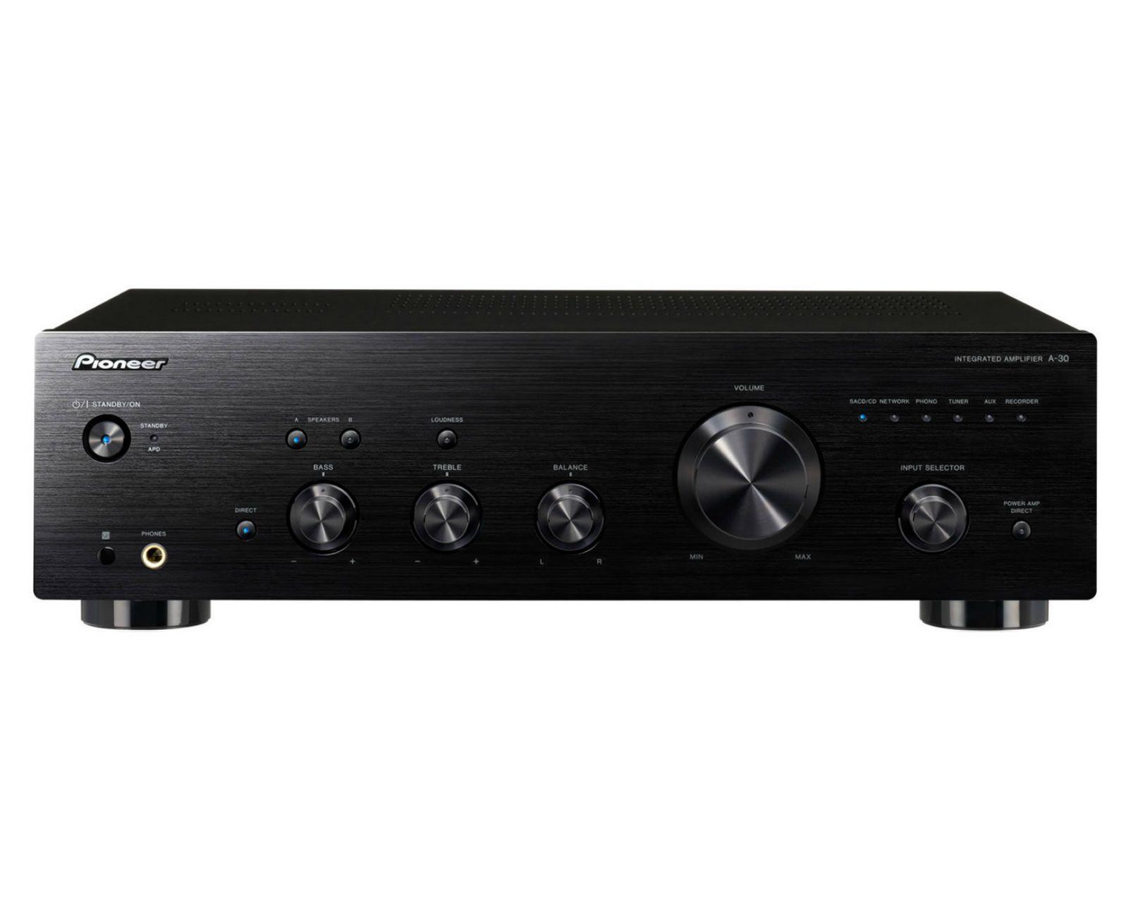 Powieksz do pelnego rozmiaru pionier, pioneer, pionner, pionneer,  wzmacniacz stereo zintegrowany wzmacniacz, wzmacniacz audio, pure audio, pureaudio a30, a-30, a 30