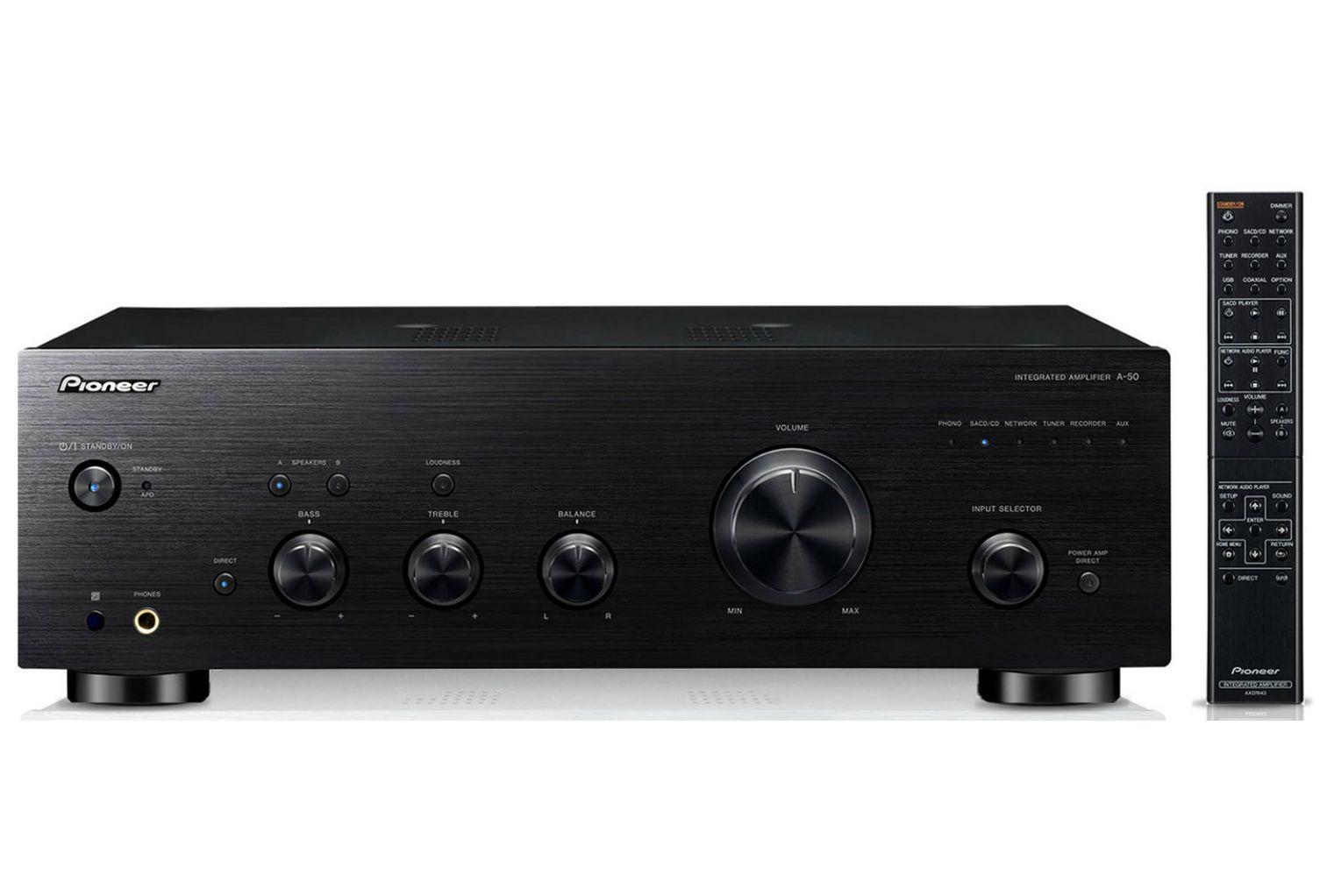 Powieksz do pelnego rozmiaru pionier, pioneer, pionner, pionneer,  wzmacniacz stereo zintegrowany wzmacniacz, wzmacniacz audio, pure audio, pureaudio a50, a-50, a 50