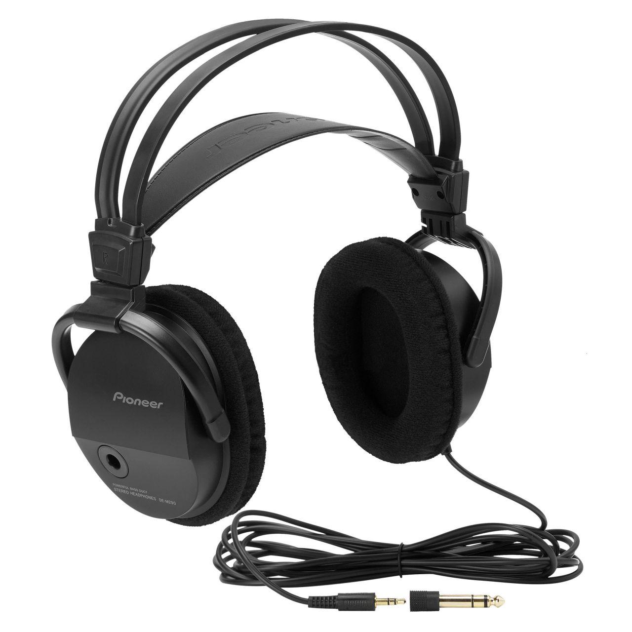 Powieksz do pelnego rozmiaru Pionier, pionner, pionneer, pioneer SE-M 290, SE M 290 SE-M290, SE M290 SE-M-290, SE M-290 słuchawki domowe, słuchawki z pałąkiem, słuchawki nagłowne, słuchawki wokółuszne, słuchawki zamknięte, słuchawki hifi